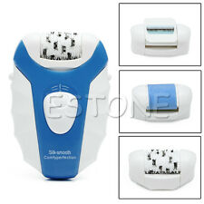 Rechargeable 3 in 1 Callus Remover Electric Epilator Hair Removal EU Plug New