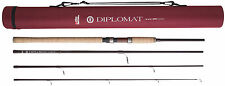 Abu Garcia Diplomat 904ml Spin Carbon 9ft Rod -4 Piece Plus Cordura Tube 1302976