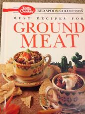 Betty Crocker's Red Spoon Collection: Best Recipes for Ground Meat (1991 HC)1st