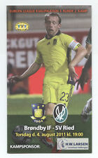 Orig.PRG     Europa League 11/12      BRÖNDBY IF - SV RIED  !!  SELTEN