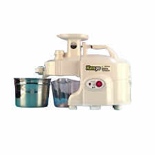New GREEN POWER KEMPO GPT-E1303SE Exclusive Pro-Type Twin gear juicer-White