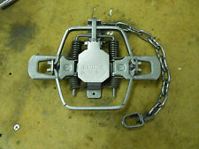 3 - Bridger #1.75 OFFSET 4 COILED TRAPS, trapping, coyote, bobcat, raccoon