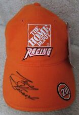NASCAR Tony Stewart Home Depot #20 Signed Autographed Hat By Chase New