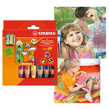Stabilo Woody 3 in 1  pencils + sharpener:  window crayon, watercolour.