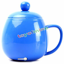 Free shipping Blue USB Electric Kettle Coffee Tea Water Beverage Mug Cup Heater