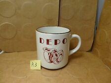 DEPO Your One Stop Turbo Shop Porterville California Coffee Mug (Used/EUC)