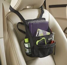 Compact SwingAway Car Seat Organizer Car Storage Baby Snacks Tablet smartphones