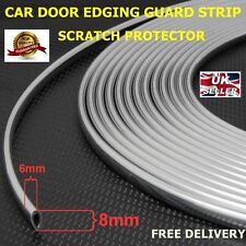 3 Meters Chrome Car Door Edge Guard Protector Moulding Trim Molding Strip3
