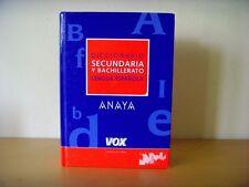 Usado - DICCIONARIO SECUNDARIA Y BACHILLERATO LENGUA ESPAÑOLA- Usado