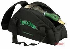 LUCKY DUCK GEAR BAG DECOY STORAGE CARRYING CASE BLACK NEW!