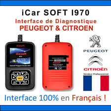 Valise Diagnostique PEUGEOT et CITROEN - iCar SOFT I970 PSA LEXIA DIAGBOX PP2000