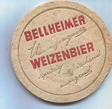 alterer Bierdeckel Brauerei Silbernagel BELLHEIM