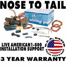 1963-1975 Oldsmobile Complete Modern Update Re-Wiring Kit all wire harnesses