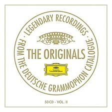 THE ORIGINALS VOL.2 (LIMITED  50 CD NEU BEETHOVEN/MAHLER/SCHUBERT/VERDI