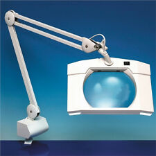 Light Craft LC8069 Rectangular Wide Lens Magnifier Table Lamp Magnifying Nails++