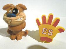 Ü-Eier  Überraschungseierfigur - Wasserspritztier Hund  u. Stempelring Hola