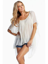ELAN VN176 Poncho butterfly top Color: WHITE One size Fits Most