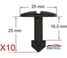 X10 Audi 100, 80. A4-A6 A8 Tt Rueda Arch cubierta Sujetador Clips