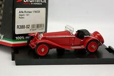Brumm 1/43 - Alfa Romeo 1750 GS Zagato 1931 Rosso