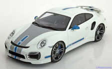 1:18 GT Spirit Porsche 911 (991) Turbo S Techart 2013 white/blue/grey