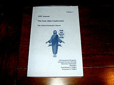 United Methodist Church 2001 East Ohio Conference, Volume 1 / Journal Book