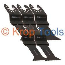 5 Multi Tool Blades Black & Decker DeWalt 44mm Bi-Metal by KROP