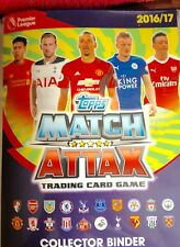MATCH ATTAX 2016/17 SWAPS  or  BUY  MINT CONDITION