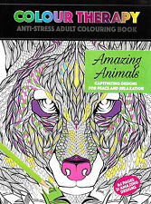 Amazing Animals (Adult Colouring Book) New Mindfulness Anti-Stress PB (Exc Cond)