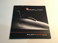 New - Booklet HAMILTON Pilot Watches - Watches Relojes Montres - For Collectors