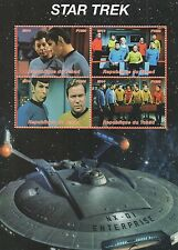 Star Trek Enterprise République du Tchad 2014 Mnh Sello sheetlet