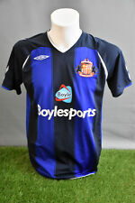 Sunderland Football Shirt Away Adult M 0809 Umbro Soccer Jersey Camesita Trikot