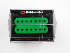 DiMarzio Ionizer 7 String Bridge Humbucker Green W/Black Poles DP 711