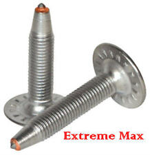"48 qty.Extreme Max 1.25"" Stainless Steel Snowmobile Studs,Nuts for 1"" lug track"
