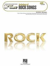 ANTHOLOGY OF ROCK SONGS: GOLD EDITION - EZ PLAY TODAY PIANO SONGBOOK 100280