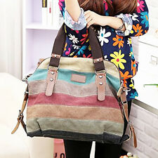 New Fashion Women Handbag Shoulder Bag Messenger Large Tote Canvas Ladies Purse