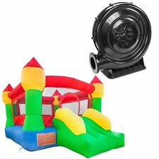 Inflatable Mighty Bounce House Castle Jumper Moonwalk Bouncer With Blower