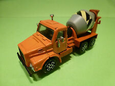 PLAYART VOLVO? TORPEDO 12 TRUCK + CONCRETE MIXER 1:60? - VERY GOOD CONDITION