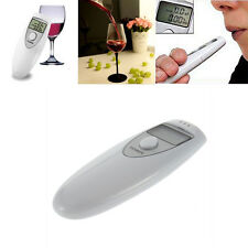 Digital Alcohol Breath Tester Analyzer Breathalyzer Detector Test Testing NR