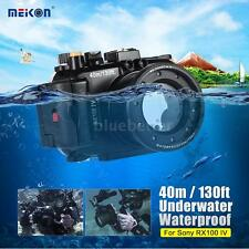 MEIKON 40M Underwater Waterproof Camera Housing Case for SONY DSC-RX100 IV H8O2
