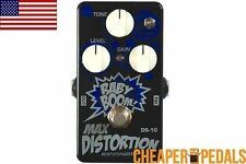 NEW BIYANG DS-10 MAX DISTORTION Guitar Effects Pedal *FREE* Shipping! US Dealer