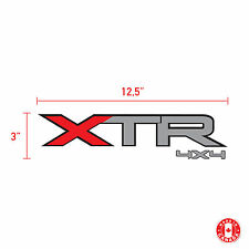 2X XTR 4X4 FORD sticker vinyl car decal