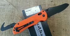 Benchmade 915SBK-ORG TRIAGE BK Blade Orange Handle Rescue Fire EMT PARAMEDIC EDC