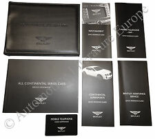 2009 BENTLEY CONTINENTAL SUPERSPORTS POUCH BETRIEBSANLEITUNG OWNERS MANUAL -ENG-