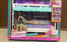Barbie Sister Stacie Chelsea Skipper Sleeptime Bedroom Bunkbed Bunk Bed Playset