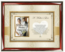 Personalized Wedding Gift Mom Parent Birthday Mother Bride Present Picture Frame