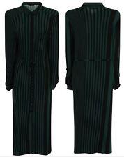 Womens Split Maxi Long Dress Shirt Evening Party Wrap Belt Collar Dress Summer