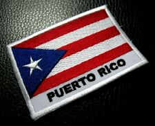 COMMONWEALTH OF PUERTO RICO NATIONAL FLAG Sew on Patch Free Shipping