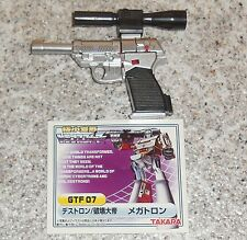 Takara Worlds Smallest Transformers MEGATRON Complete g1 mini figure WST