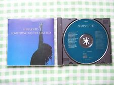 """SIMPLY RED """"Something got me started"""" cd single"""