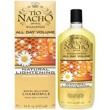 TIO NACHO Natural Lightening - Volumizing Shampoo 14 oz (Pack of 6)